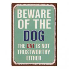 "TM-CEAN-6Y2432 Magneet ""Beware of the dog"" - 7 cm"