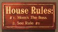 "Magneet ""House rules..."""